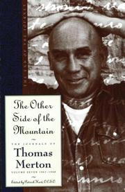 Cover of: The Other Side of the Mountain: The End of the Journey (Merton, Thomas//Journal of Thomas Merton)
