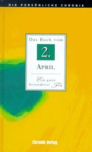 Cover of: Das Book Von 2. April