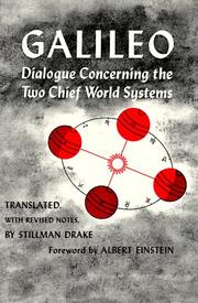 Cover of: Dialogue Concerning the Two Chief World Systems, Ptolemaic and Copernican