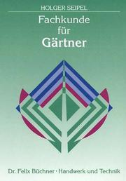 Cover of: Fachkunde fu r Ga rtner |