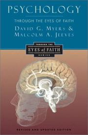 Cover of: Psychology through the eyes of faith | David G. Myers