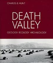 Cover of: Death Valley | Charles B. Hunt