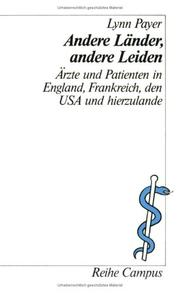 Cover of: Andere Länder, andere Leiden