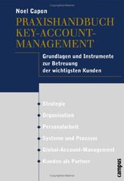 Cover of: Praxishandbuch Key Account- Management