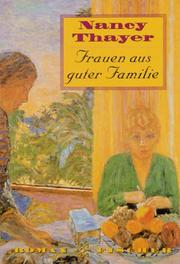 Cover of: Frauen aus guter Familie
