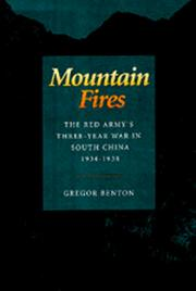 Cover of: Mountain fires