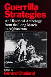 Cover of: Guerrilla Strategies: An Historical Anthology from the Long March to Afghanistan