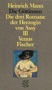 Cover of: Die Göttinnen III. Venus