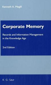 Cover of: Corporate Memory Information Services Management Series