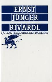 Cover of: Rivarol