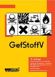 Cover of: Gefstoffv