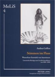 Cover of: Stimmen Im Fluss | Andrea Geffers