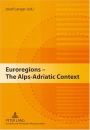Cover of: Euroregions