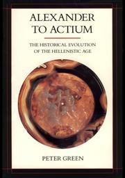 Cover of: Alexander to Actium