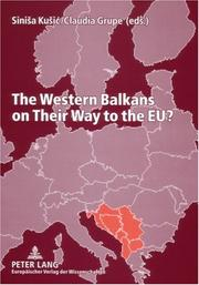Cover of: The Western Balkans on Their Way to the EU? |