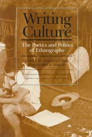 Cover of: Writing Culture |