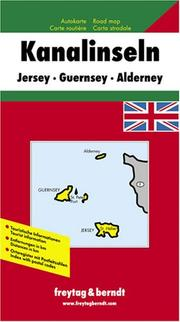 Cover of: Channel Isles Map, Great Britain