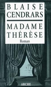 Cover of: Madame Therese
