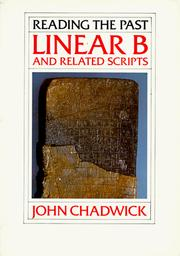Cover of: Linear B and related scripts