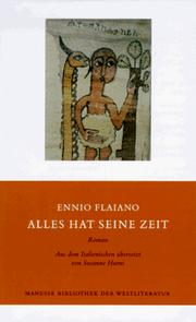 Cover of: Alles hat seine Zeit