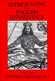 Cover of: Representing the English Renaissance |
