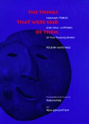 Cover of: The things that were said of them | Asatchaq