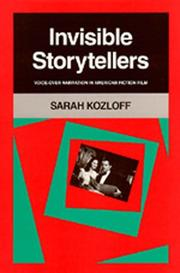 Cover of: Invisible storytellers