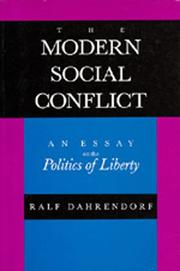 Cover of: The modern social conflict
