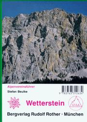 Cover of: Wetterstein