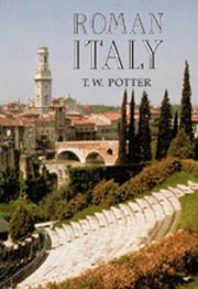 Cover of: Roman Italy (Exploring the Roman World)