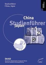 Cover of: Studienführer China, Japan