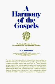 Cover of: A Harmony of the Gospels