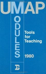 Cover of: Umap Modules, 1980