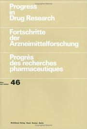 Cover of: Progress in Drug Research 46 (Progress in Drug Research)
