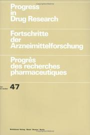 Cover of: Progress in Drug Research, Volume 47 (Progress in Drug Research)