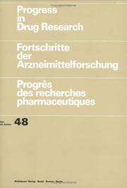 Cover of: Progress in Drug Research, Volume 48 (Progress in Drug Research)