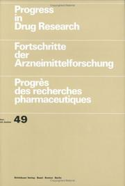 Cover of: Progress in Drug Research, Volume 49 (Progress in Drug Research)