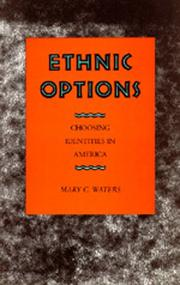 Cover of: Ethnic options
