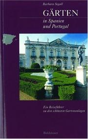 Cover of: Gärten in Spanien und Portugal