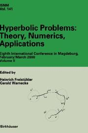Cover of: Hyperbolic Problems: Theory, Numerics, Applications |