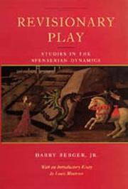 Cover of: Revisionary play