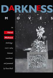 Cover of: Darkness moves