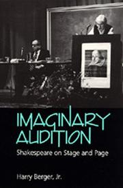 Cover of: Imaginary audition