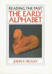 Cover of: The early alphabet | John F. Healey