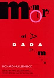 Cover of: Memoirs of a Dada drummer
