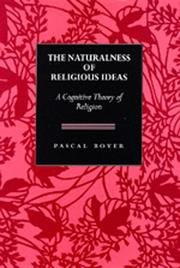 Cover of: The naturalness of religious ideas