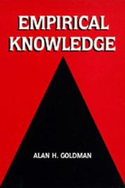 Cover of: Empirical Knowledge