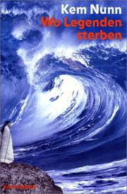 Cover of: Wo Legenden sterben