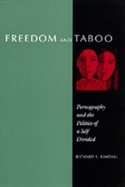 Cover of: Freedom and Taboo | Richard S. Randall