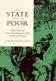 Cover of: The state and the poor | John Echeverri-Gent